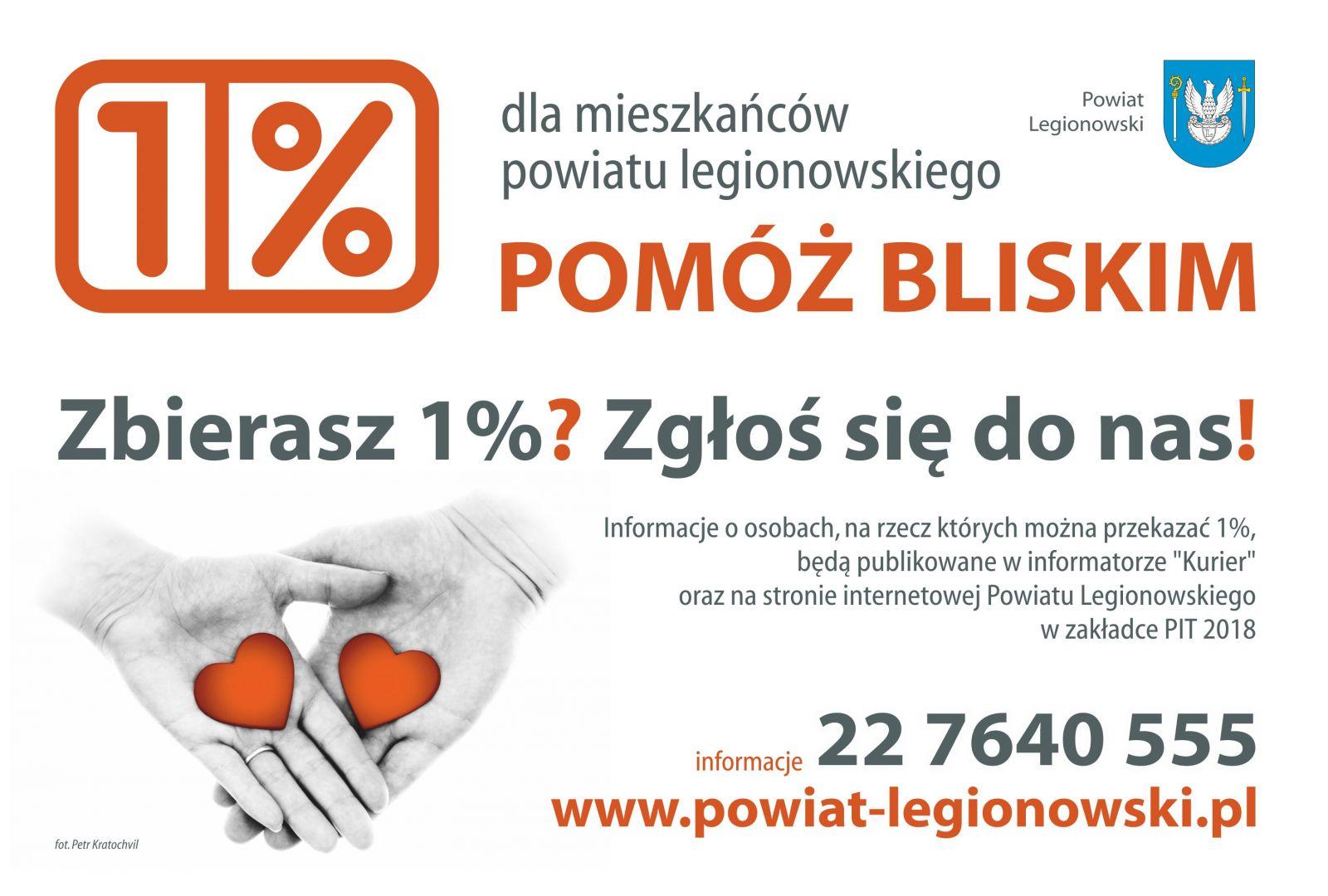 cb167aa617 Zbierasz 1% - zgłoś się do nas! - Powiat Legionowski